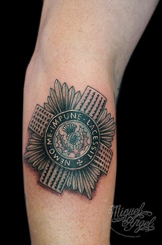 16 best images about scots guards british army on for Tattoos in the british army