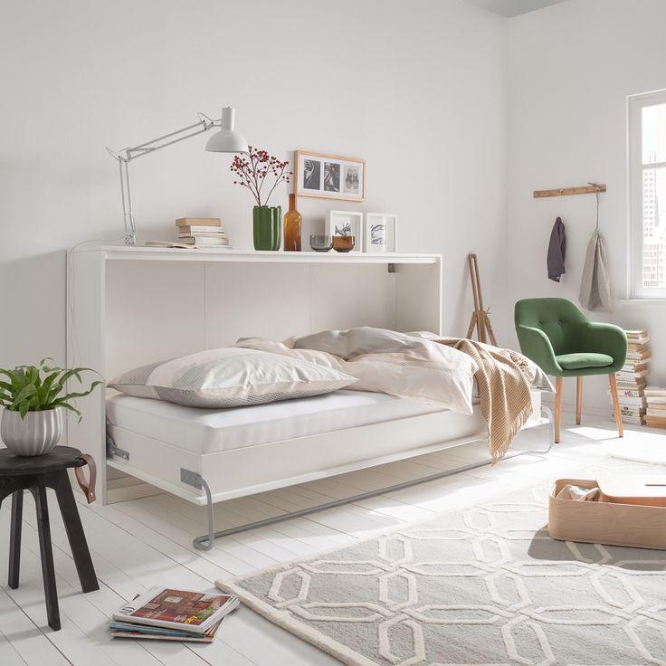 die besten 25 schrankbett klappbett ideen auf pinterest klappbett g stebett klappbett und. Black Bedroom Furniture Sets. Home Design Ideas