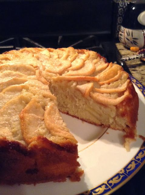Nonna's Homemade Italian Apple Cake.