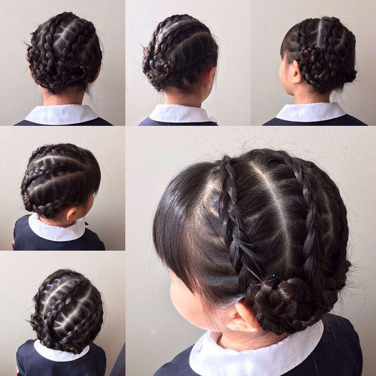 いいね!28件、コメント2件 ― izumi☺︎kさん(@iizumm_25)のInstagramアカウント: 「今日から年長さんです♪  #キッズヘア #キッズヘアアレンジ #キッズ #子供の髪型 #子供ヘアアレンジ #子供 #簡単ヘアアレンジ #ヘアアレンジ #幼稚園 #幼稚園児 #子育て…」