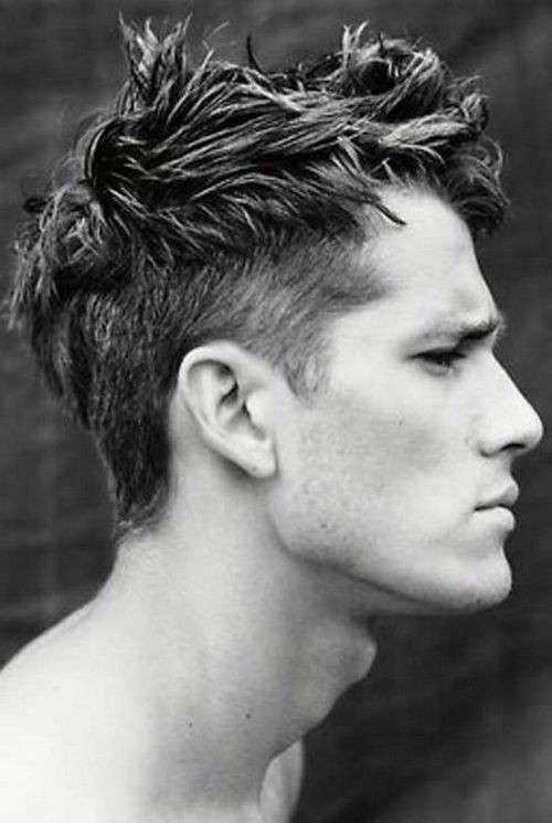 Tagli capelli uomo 2016 - Hair style effetto spettinato