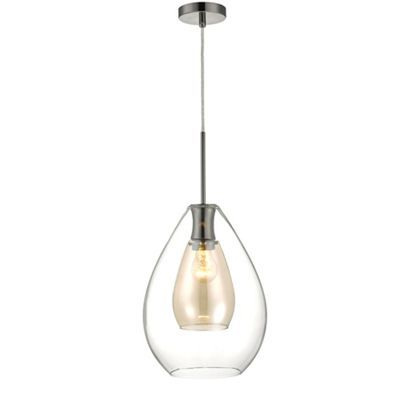 £80 Home Collection 'Caroline' pendant ceiling light | Debenhams