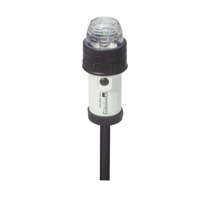 Portable Led Stern Navigation Light - 'C' Clamp Mount