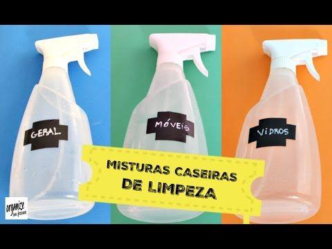 Organize sem Frescuras | Rafaela Oliveira » Arquivos » 5 Misturas Caseiras e Eficientes de Limpeza (Amo!)