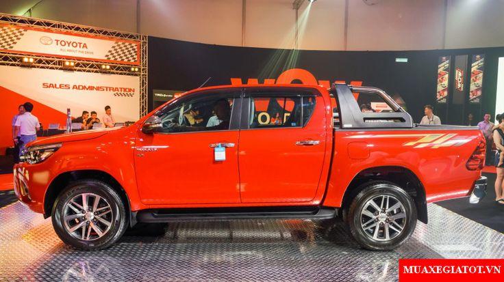 Toyota Hilux 2016 phiên bản mới sẽ ra mắt Việt Nam ngay trong tháng 10 này