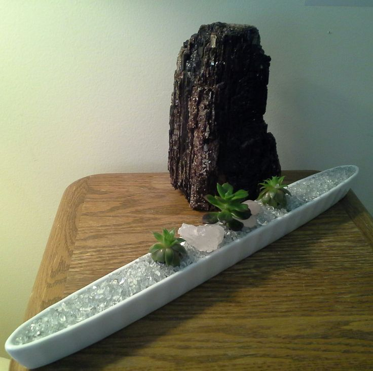 Dean's Baskets created her version of the Canoe transporting Crystals & riches with beautiful Rosette Succulents........$30..00 deansbaskets@gmail.com 604.603.5829 *browse my Facebook Page! :)