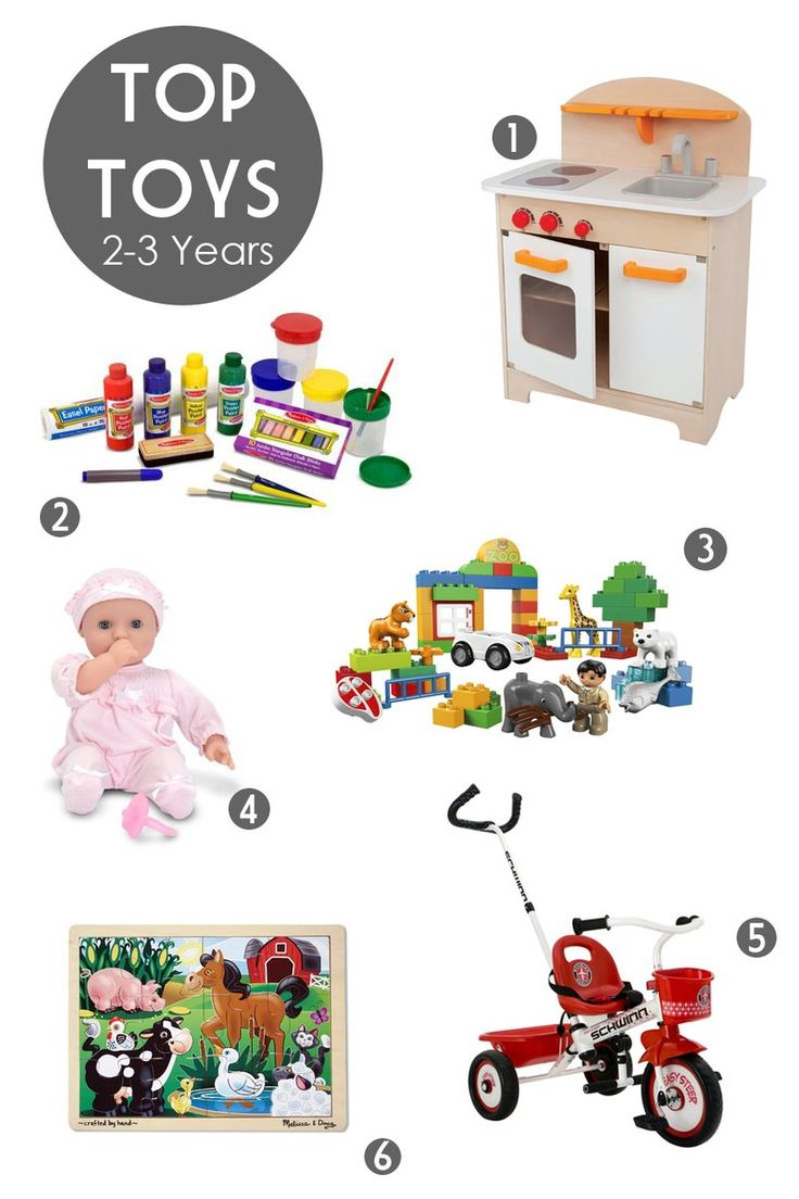 Looking for the perfect gift for a 2-3 year old?  These 6 picks are ultimate favorites in my house.
