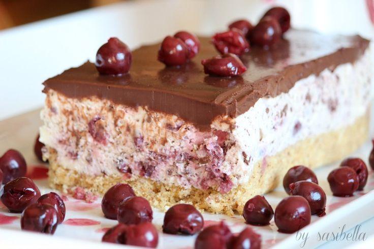 Kirsch-Stracciatella-Kuchen