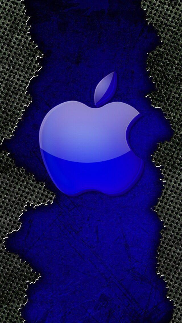 Blue Apple! Logo de apple, Fondo de pantalla para