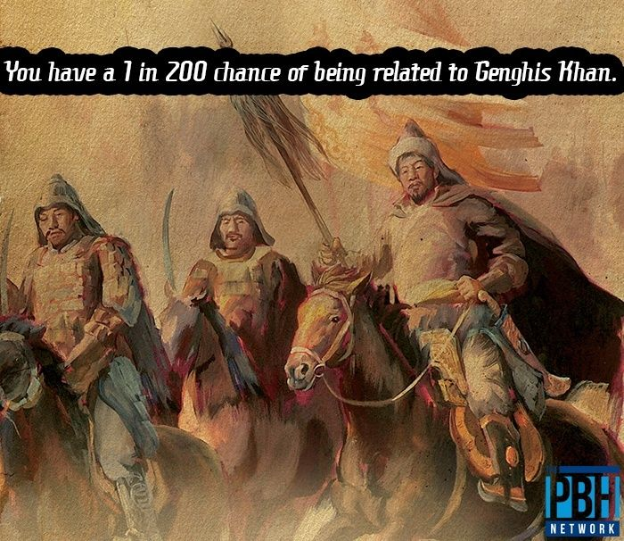 Relation To Genghis Khan