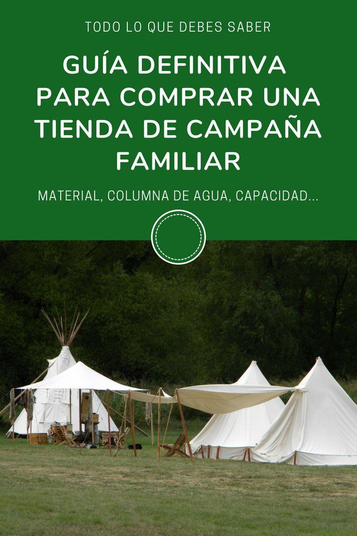 Tienda de Campaña para 4 Personas Impermeable Acampar Camping Carpa OFERTA