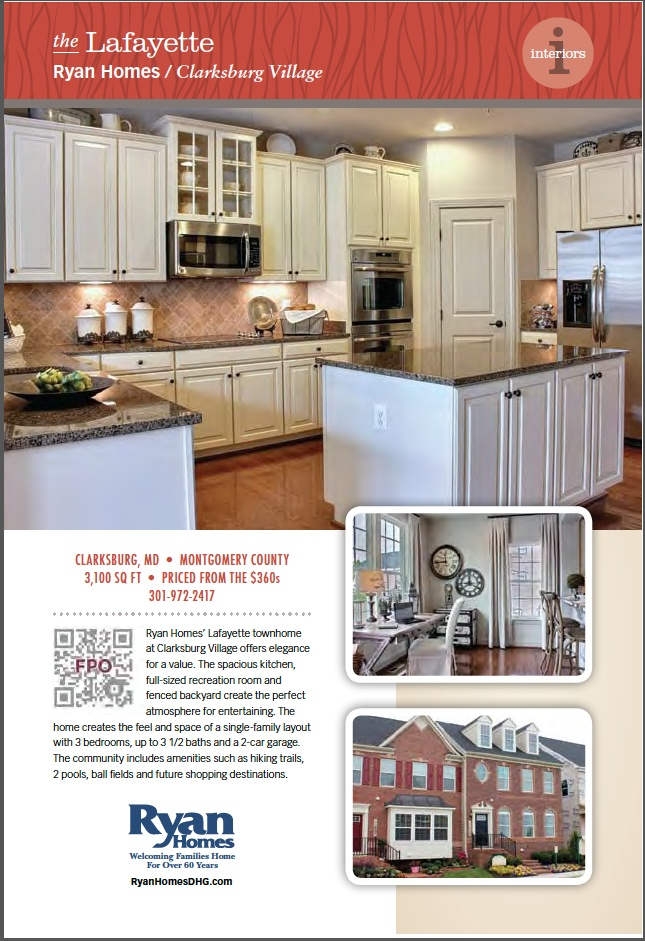 Ryan Homes, The Lafayette