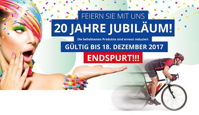 BESSERDRUCKEN:  ENDSPURT bei den 20 JahreADES-Jubiläums Angeboten...