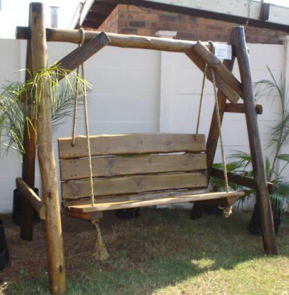 Garden Swing Plain 2 or 3 Seater