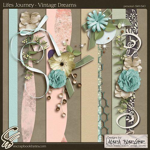 Lifes Journey – Vintage Dreams Borders :: Page Edges :: Embellishments :: SCRAPBOOK-BYTES    Also available at Pickleberrypop:  http://www.pickleberrypop.com/shop/product.php?productid=24509=0=1