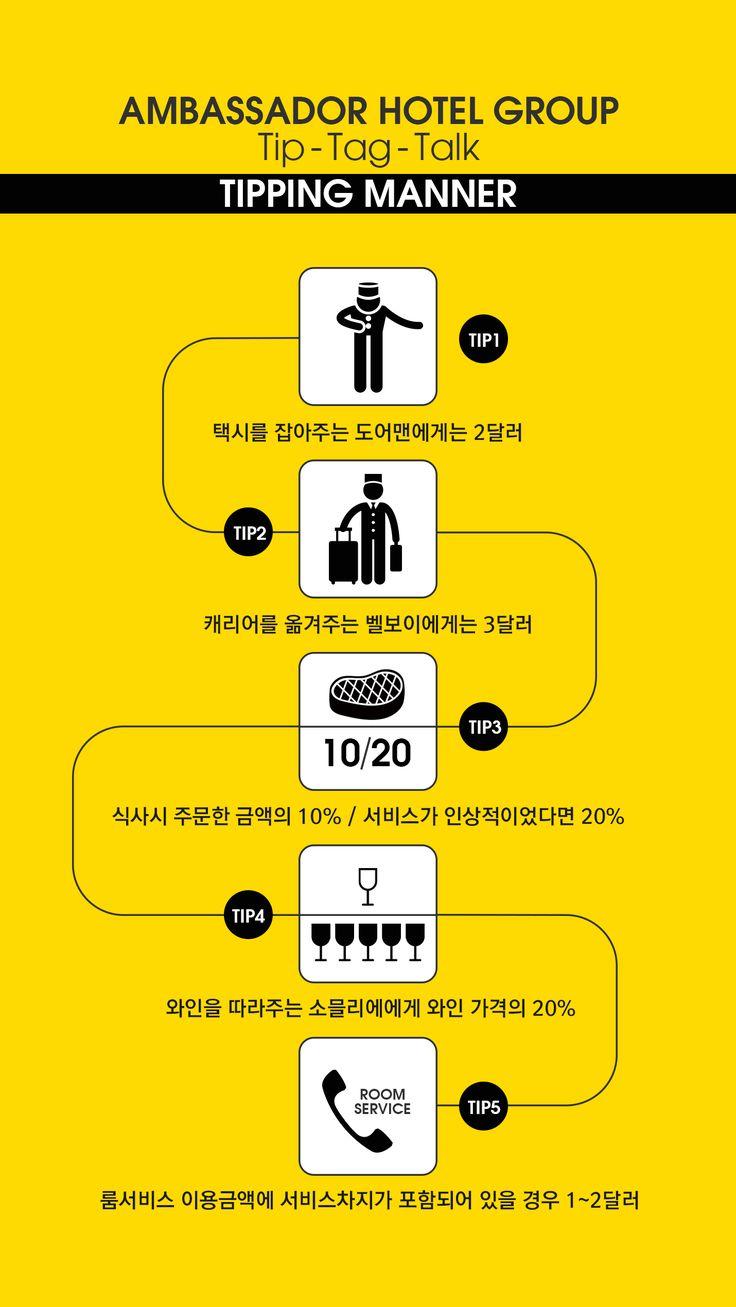 팁핑 매너 인포그래픽 #인포그래픽 #infographic #tippingmanner #팁 #팁주는법 #팁문화