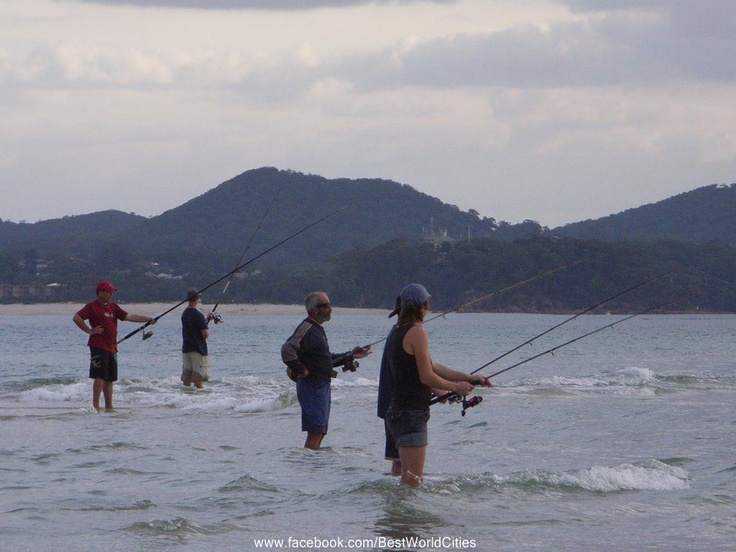 Fishing in Port Stephens. There are so many beautiful places to throw a line.  Don't forget your fishing permit though.