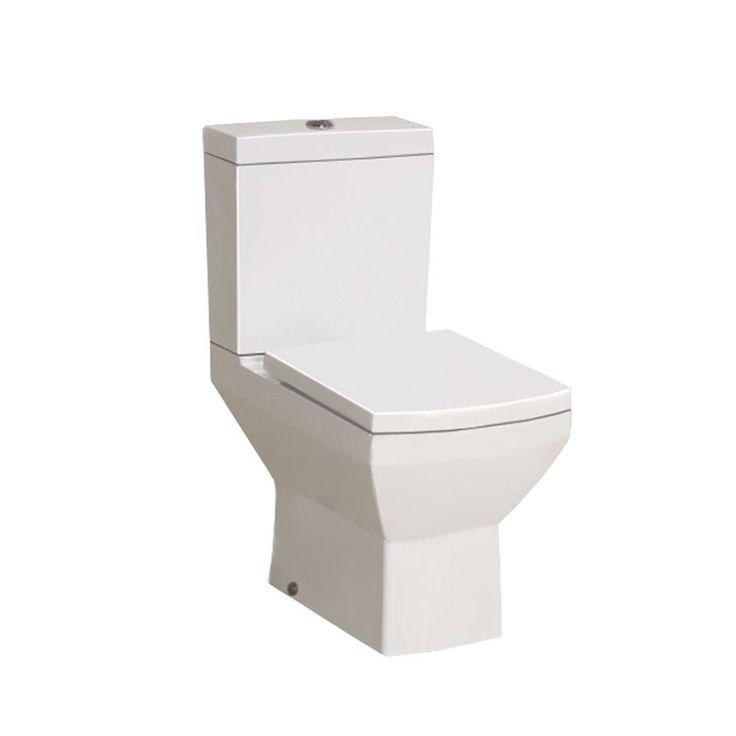 Ανανεώστε το χώρο του μπάνιου σας με λεκάνη χαμηλής πιέσεως Model Q, με κάλυμμα soft close.