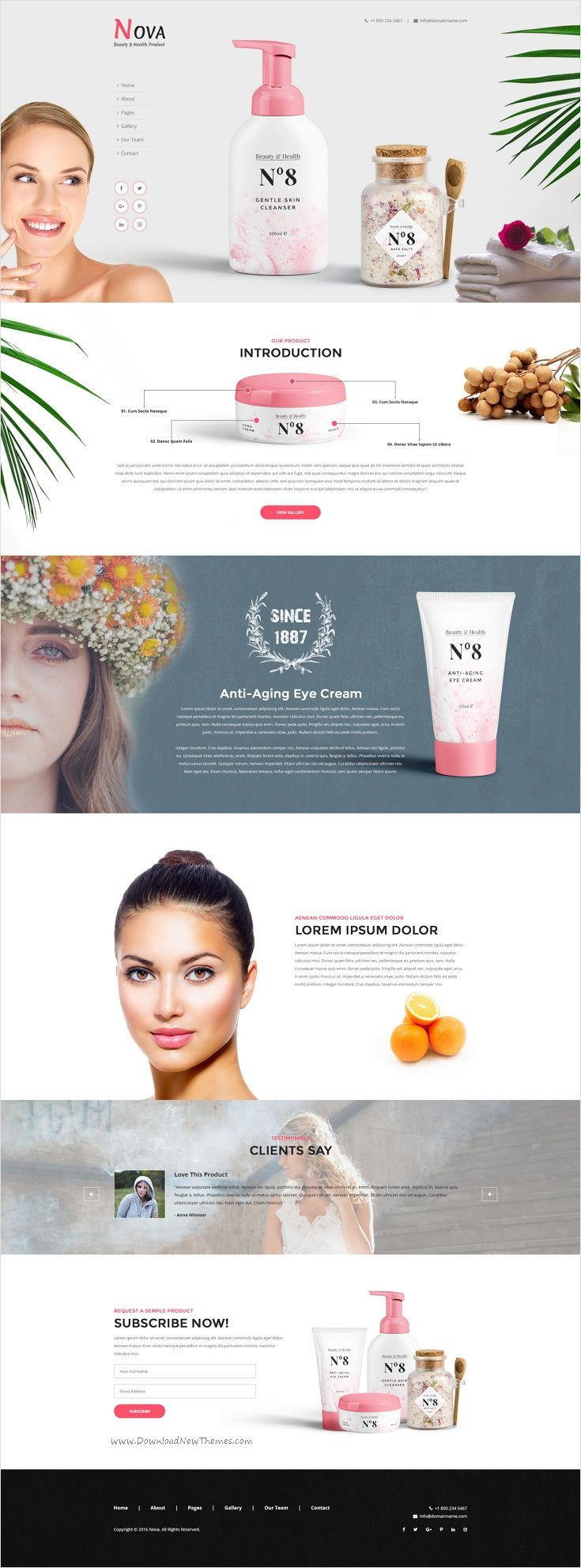 Nova is clean and modern design single #product #PSD #Template for stunning eCommerce website download now➩ https://themeforest.net/item/nova-single-product-psd-template/17457574?ref=Datasata