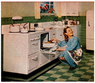 Delightful Green Kitchen C.