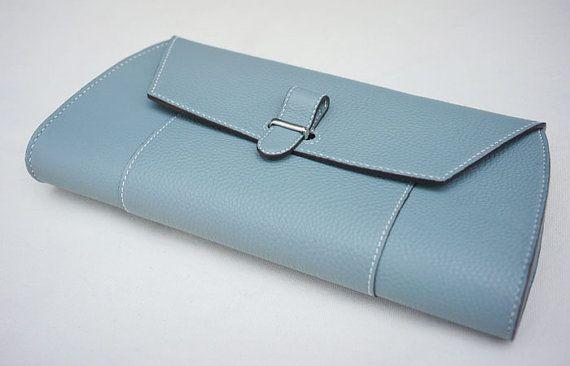 Handmade Women's leather clutch ver.2 от dextannery на Etsy
