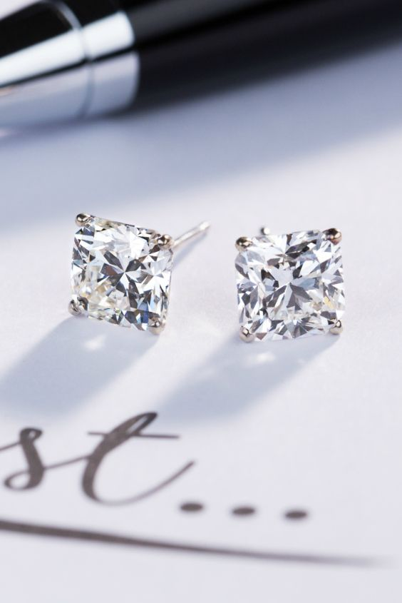 Pssst...It's the little things that make the biggest impact. Drop a hint this holiday season by saving these Forevermark Black Label Diamond Stud Earrings onto your wish list.