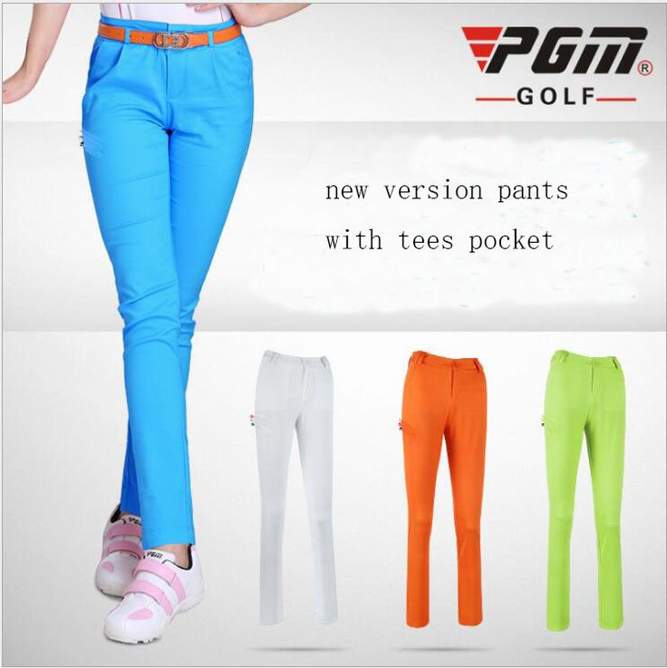 PGM spring and summer clothing ladies golf trousers Golf ball quick-drying pants stretch pants Slim