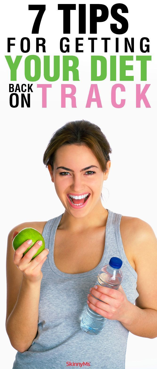 7 Tips for Getting Your Diet Back on Track | Weight loss ...