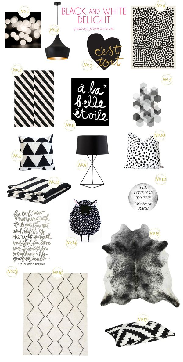"""Get the Look: Black and White Delight"" featuring the LAPPLJUNG RUTA cushion cover and EIVOR throw @Better Homes and Gardens.com"