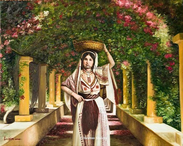 لوحه للفنان ابراهيم شلبي ...