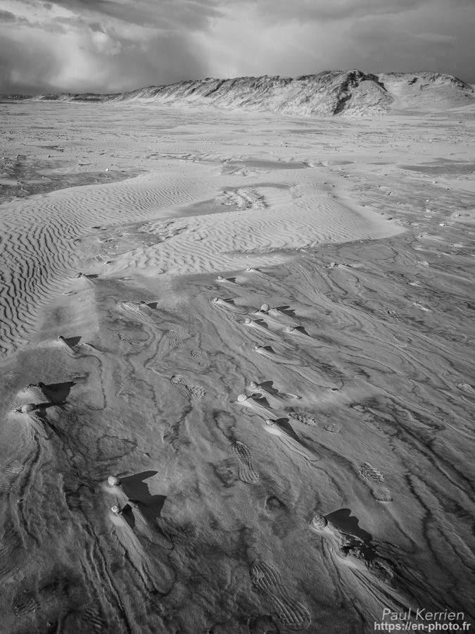 marée descendante en Baie d'Audierne  - à Tréguennec  © Paul Kerrien 2018 https://en-photo.fr Finistere Bretagne
