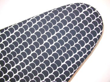 Ironing Board Cover In Alexander Henry Black And White By Pixiilane Boutique - contemporary - ironing board covers - Etsy