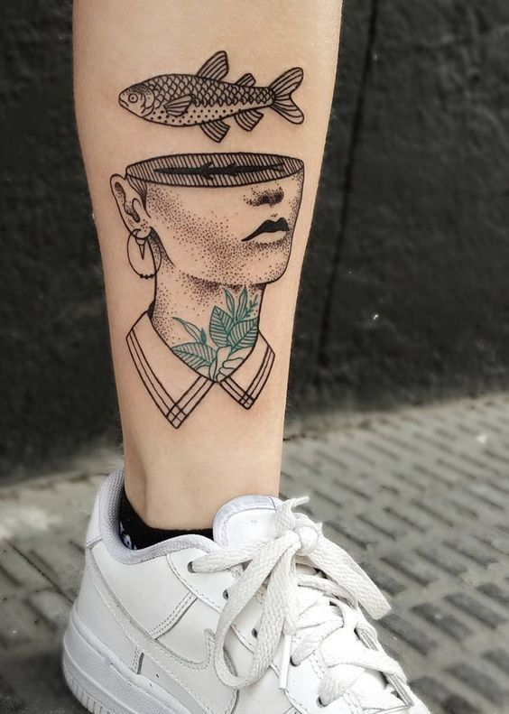 Fish Tattoo – TOP 200 – in der Welt sind auf dieser Liste. Bewertet. Check out – Tattoo Modelle