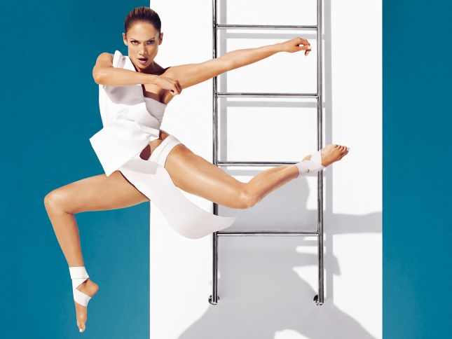 Тело как у Ло: диета и тренировка Дженнифер Лопес | Glamour.ru