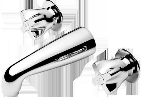 Methven Awa Bath Faucet - Proven New Zealand engineering with a contemporary design twist. Awa offers a comprehensive range for all areas of home improvement – A contemporary design alternative to traditional tapware. Available at Pecks Plumbing Plus Manukau!