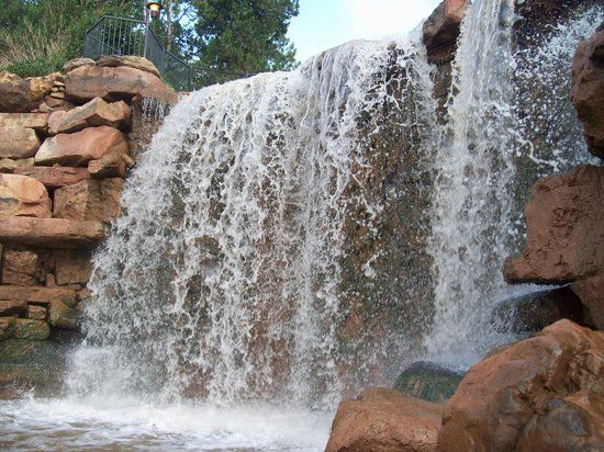 The Falls in Lucy Park- Wichita Falls, TX