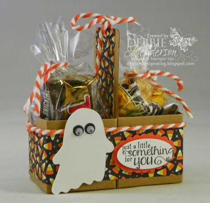 find this pin and more on treat holders - Halloween Treat Holders