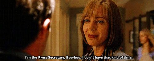 C.J. Cregg, The West Wing | The 43 Most Badass TV Heroines