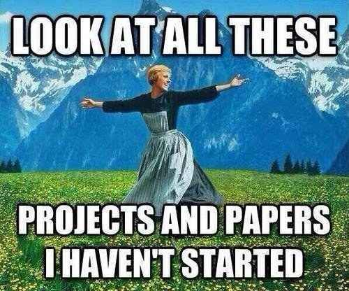 18 End Of Fall Semester Thoughts