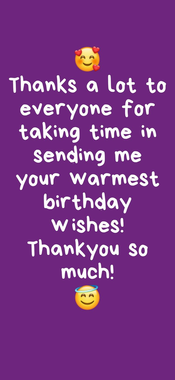 Thanks after birthday wishes Happy birthday quotes for