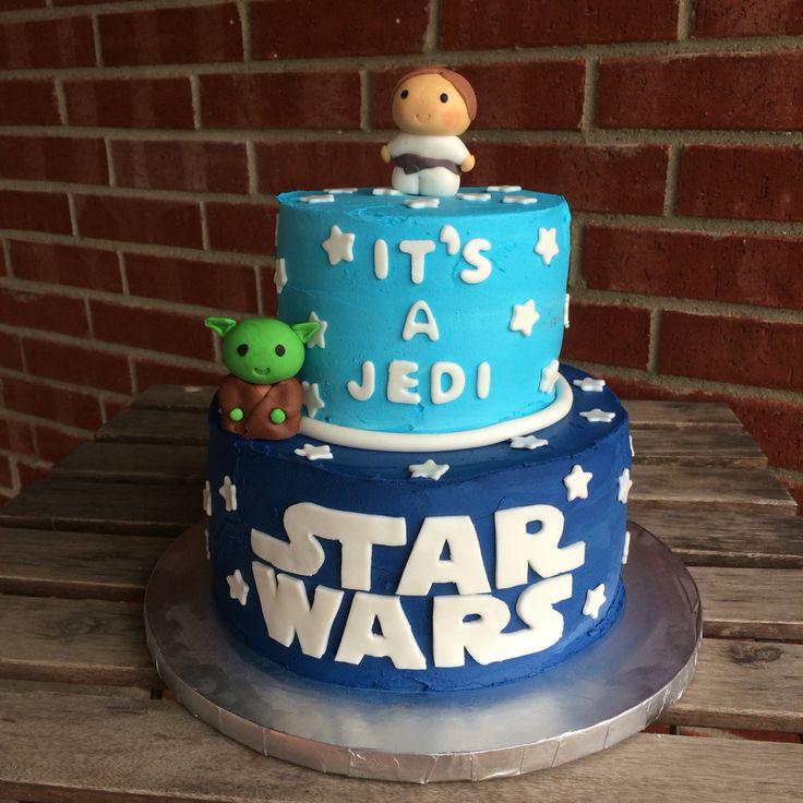 Baby Shower Cakes Kingston ~ Star wars baby shower cake november  kirsten s