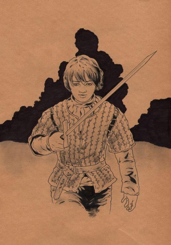 Game of Thrones - Arya Stark by Jason Baroody
