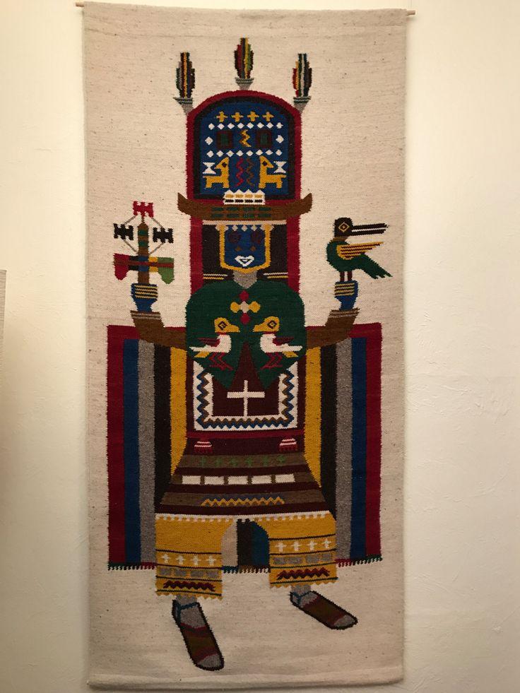 Equadorian Tapestry, Salasaka Tapestry, Salasaka, Wall Hanging Woven, Large Wall Tapestry, Southwestern Tapestry, Tribal Aztec Wall Decor, by BiddleandBrass on Etsy