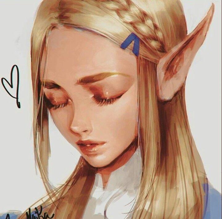 The Legend of Zelda Breath of the Wild - Princess Zelda