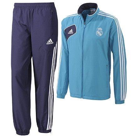 Chandal Real Madrid Hombre 2012-2013 Antes: 122€ Ahora: 59,95€ - + 50% descuento - Entrega 48 horas. #outlet #futbol www.entretiendas.com