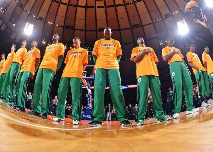 Boston Teams Pay Tribute as Games Resume Basketball news