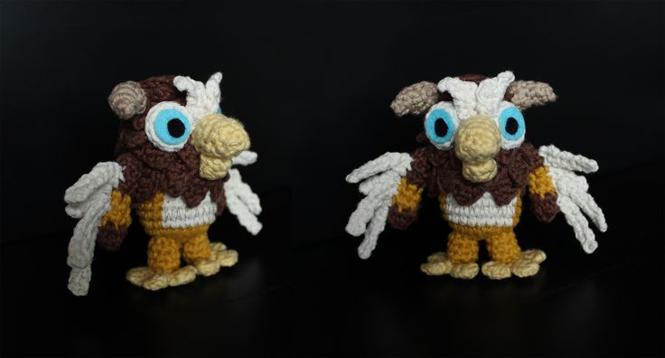 Crochet Sweater Pattern For 18 Inch Doll : Moonkin Hatchling, World of Warcraft Weiwa Crochet ...