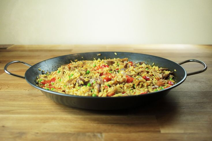 Beautifully tender pheasant in rich paella, bursting with flavour! What's not to like?