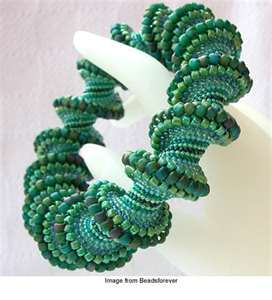 Cellini Spiral Stitch Tutorial. This is a site with jewelry vidios.