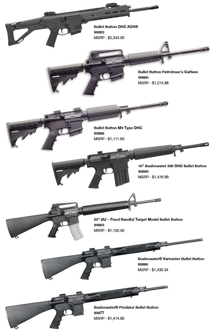 Bushmaster - Bullet Button Firearms